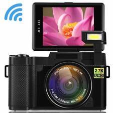 Digital Camera Seree Video Cameras 4X Digital Zoom Vlogging Camera Point and Sho