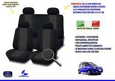Fodere Coprisedili auto Fiat Panda 2005 169 set su misura complete foderine per