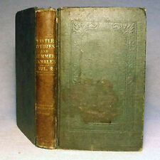 Winter Studies & Summer Rambles in Canada—Ultra-Rare 1839 vol. II Hardback