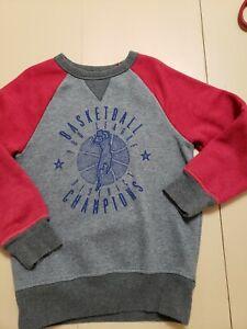 Childrens Place Boys Sweatshirt 5/6, Basketball League Champions
