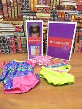 American Girl GOY Lea Mini Doll and Swim Suit Set NIB Retired