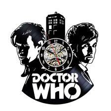Doctor Who Wall Clock Modern Design Unique Watch Wall Vinyl Clocks Home Decor