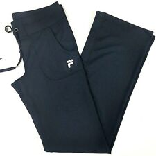 Fila Sport Live In Motion Womens Boot Cut Yoga Running Pants Sz XS Black Pockets