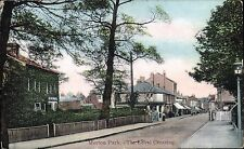 Merton Park. The Level Crossing by Collectors' Publishing Co. Railway.