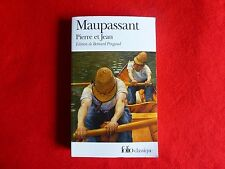Maupassant By Pierre et jean (1982) French Language Edition