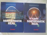 Konvolut Mathematik Real 5.+6. Kl. Realschule, NRW, Cornelsen Verlag, 2002, 2001