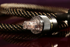 Audio Cables Hiend Main Power Cable DIY Silver-Plated EUR Plug 1.5 m
