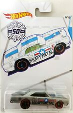 Hot Wheels 2019 Larry Wood 50th Anniversary Complete Set of 10 With Protectors