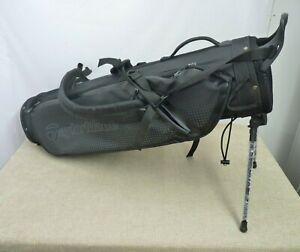 TaylorMade TM20 Quiver Pencil Golf Bag - Black - Mini Stand   Thames Hospice