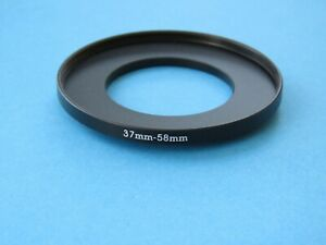 37mm to 58mm Step Up Step-Up Ring Camera Lens Filter Adapter Ring 37mm-58mm