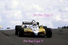 Rene Arnoux Renault RE30B Winner French Grand Prix 1982 Photograph 1