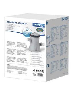 Intex pompa filtro piscina piscine easy frame 1250 l/h 28602 Con Cartuccia