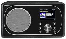 Pure Evoke F3 LCD Display Internet Bluetooth DAB Radio - Wood
