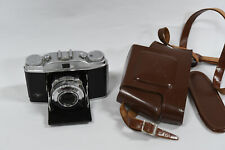 Agfa Solinette Prontor - SVS 35mm Film Folding Camera & Solinar 50mm f3.5 Lens