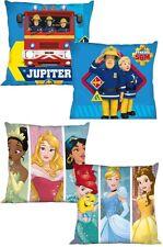 Feuerwehrmann Sam Disney Prinzessin Kissenbezug Kissen Bezug Kissenhülle Kinder