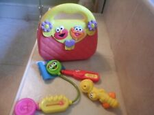 Sesame Street Medical Kit Doctor/Nurse Bag Instrument Set