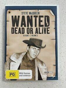 WANTED DEAD OR ALIVE - STEVE McQUEEN -  SEASON 3 - VOL. 2 . - 3 DISCS SET