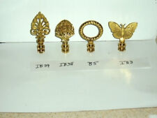 Lamp Finials Solid Brass NEW