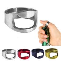 de anillo de dedo Gadgets Abridor de botellas de cerveza Herramienta de cocina
