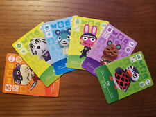 Animal Crossing Amiibo Cards - Series 1 - Authentic, New Cards, Free US Shipping