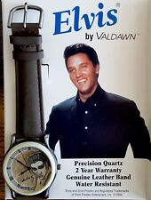 Elvis Presley Rare Collectible Waldawn beautiful WATCH with Leather Band NIB!