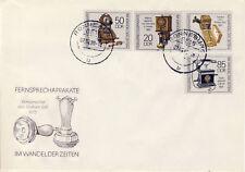 Ersttagsbrief DDR MiNr. 3226-3229, Fernsprechapparate im Wandel der Zeiten (1)