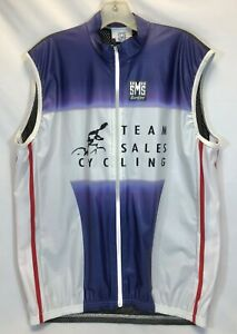 Santini Team Sales Cycling Lightweight Wind Vest - Made in Italy