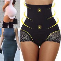Body Shaper Control Tummy Slim Corsets High Waist Lace Shapewear Underwear Women