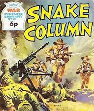 A Fleetway War Picture Library Pocket Comic Book Magazine #814 SNAKE COLUMN