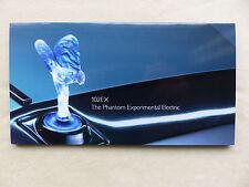 Rolls-Royce Phantom 102EX - Electric Luxury - Hochglanz Prospekt Brochure 2011
