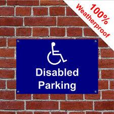 Disabled parking sign or sticker 9149