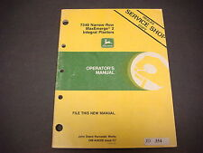 John Deere Operators Manual OM-A50316 Issue C7 7340 Integral Planters 1987 M1440