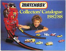 Australian Matchbox catalogue 1987/8