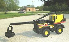 "38"" Tonka Mighty Crane 1999 # 758 metal & plastic toy truck Construction Vehicle"