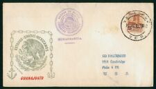 Mayfairstamps Mexico 1950s Guanajuato Paquebot Cover wwp81927