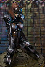 GHOST IN THE SHELL Motoko Kusanagi HARD DISK in SEXY LATEX CATSUIT! RESIN FIGURE