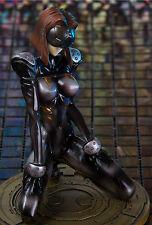 GHOST IN THE SHELL Motoko Kusanagi HARD DISK in SEXY LATEX CATSUIT! RESIN FIGURE