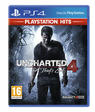& Uncharted 4 a Thief's End Hits Sony PlayStation Ps4 Game