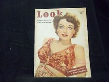 1939 SEPT 26 LOOK MAGAZINE - JOAN CRAWFORD COVER - GREAT PHOTOS & ADS - ST 1439