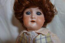 "Victorian Armand Marseille Floradora Doll-A3/Oxm- 13""-Bisque/Papier-Mache- Sale"
