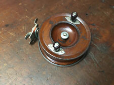 "Vintage Alvey 500 A/3 5"" Side Cast Wooden spool Fishing Reel"