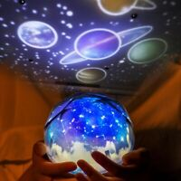 LED Starry Sky Projector Lamp Star Light Re