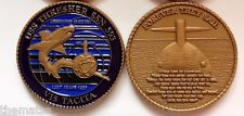 USS THRESHER SSN-593 FOREVER THEY SAIL NAVY MILITARY  SUBMARINE CHALLENGE COIN