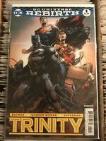 TRINITY 1 JASON FABOK VARIANT COVER 2016 BATMAN SUPERMAN WONDER WOMAN DC REBIRTH