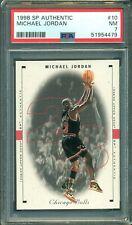 Michael Jordan 1998 Upper Deck SP Authentic #10 ** PSA 7 ** Just Graded NBA GOAT