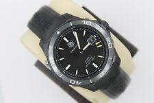 Tag Heuer WAK2180.FT6027 AUTOMATIC Aquaracer Watch Mens Black 500M $4K Calibre 5