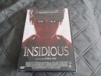 """DVD NEUF """"INSIDIOUS"""" film d'horreur de James WAN"""