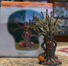 "New ListingDepartment 56 ""Lit Spooky Tree"