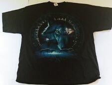 574baa7d0ad1d2 Liquid Blue Wolf Eye Dreamcatcher Mens T-Shirt New Size 3XL