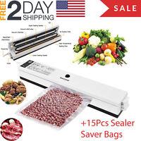 Commercial Food Saver Vacuum Sealer Machine  Sealing System